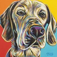 Canine Buddy II Fine Art Print