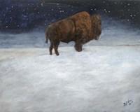 Journey Through the Snow I Fine Art Print