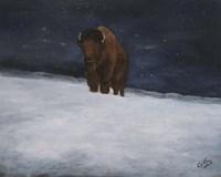 Journey Through the Snow II Fine Art Print