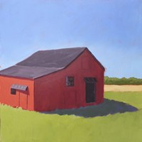 Primary Barns V Fine Art Print