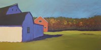 Primary Barns VIII Fine Art Print