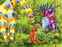 Dinos Fine Art Print