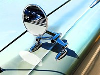 59 Side mirror Fine Art Print