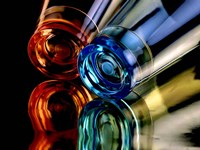 Colourful Plastic Glasses 2 Fine Art Print