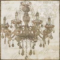 Bronze Chandelier IV Fine Art Print