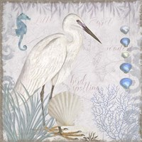 Waders II Little Egret Fine Art Print
