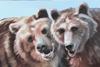Brown Bears Fine Art Print