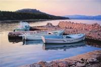Dalmatian Island Evening Fine Art Print