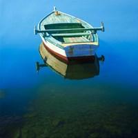 Unchained Boat Fine Art Print