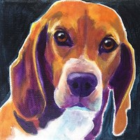 Beagle - Woody Fine Art Print