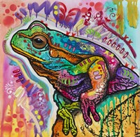 Psychedelic Frog Fine Art Print