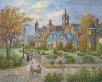 Autumn in the City Fine Art Print