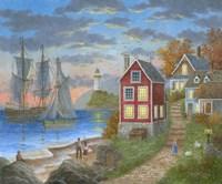 Anchor Bay Fine Art Print