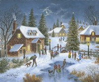 Holiday Celebration Fine Art Print