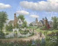 Sky Castles Fine Art Print