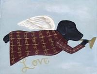 Love Labrador Fine Art Print