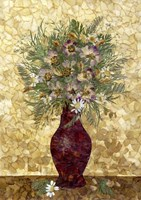 Bouquet In Vase 1 Fine Art Print