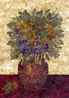 Bouquet In Vase 2 Fine Art Print