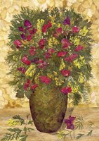 Bouquet In Vase 5 Fine Art Print