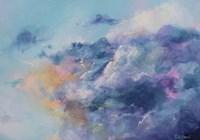 In the clouds Fine Art Print