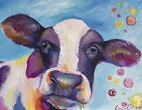 Mrs Cow Fine Art Print