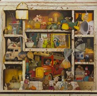 The Old Cupboard Fine Art Print