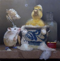The Cleaning Master Fine Art Print