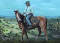 Stockman Fine Art Print