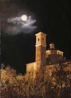 La Luna a Cherasco Fine Art Print