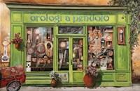 Orologi a Dondolo Fine Art Print