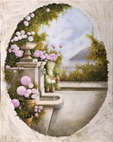 La Fontana Sulla Terrazza Fine Art Print