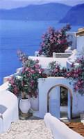 Blu Di Grecia Fine Art Print
