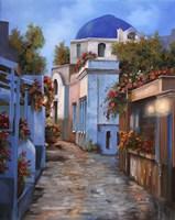 Mattino In Grecia Fine Art Print