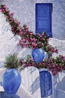 Vasi Blu Fine Art Print