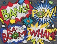 Comic Book 5 Fine Art Print