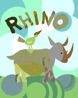 Rhino Fine Art Print