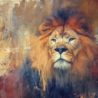Lion Energy Fine Art Print