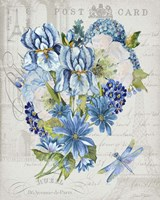 Bouquet Francais D Framed Print