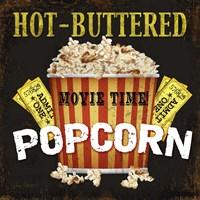 Hot Buttered Popcorn Theater Art Fine Art Print