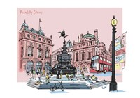 Piccadilly Circus Fine Art Print