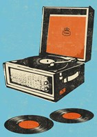 Record Player Fine Art Print