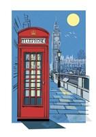 Telephone Box Fine Art Print