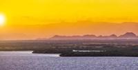 Islands In The Sunset Fine Art Print