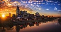 Nashville Sunset Fine Art Print