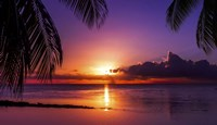 Tahiti Sunset Fine Art Print