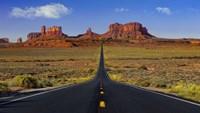 Monument Valley Road Fine Art Print