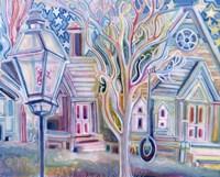 In the Lamplight Fine Art Print