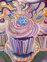 Cupcakes in The Sunshine Fine Art Print