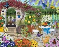 Butterfly Garden Fine Art Print