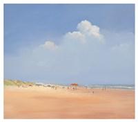 A Day on the Beach Fine Art Print